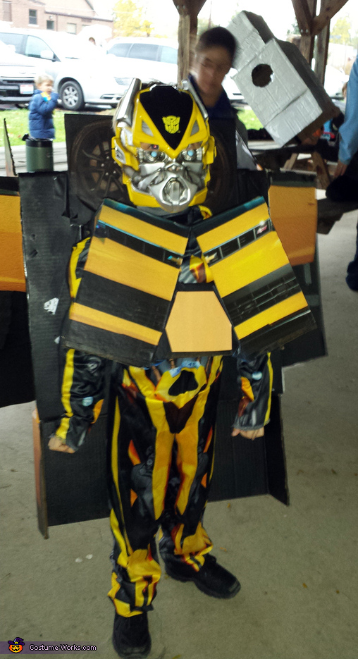 Transformer Bumble B Costume