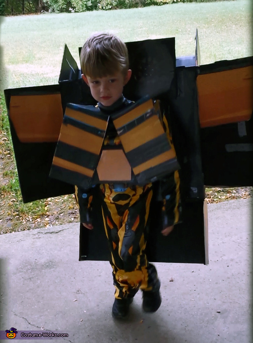 Transformed no Mask, Transformer Bumble B Costume