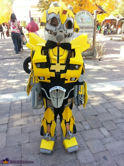 Front side, Transformer Bumblebee Costume