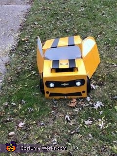 Transformed, Transformer Bumblebee Costume