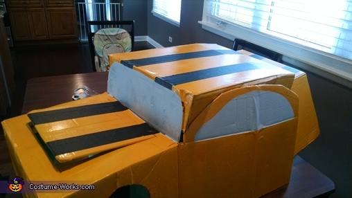 Transformer Bumblebee Homemade Costume