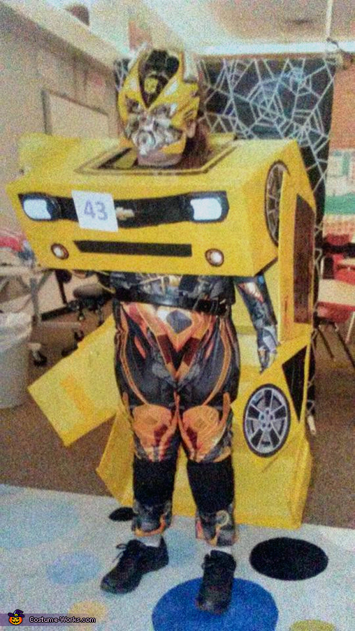 Transformable Bumblebee Transformer Camaro Costume