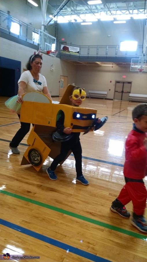 Transformer Bumblebee Homemade Costume