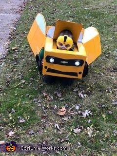 Transforming, Transformer Bumblebee Costume