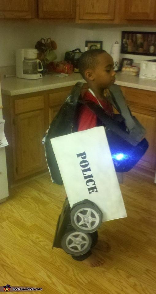 Transformer Cop Car Costume