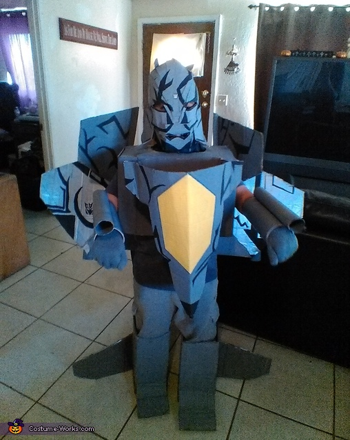 Transformer Decepticon Starscream Costume