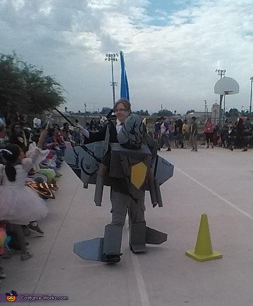 school contest, Transformer Decepticon Starscream Costume