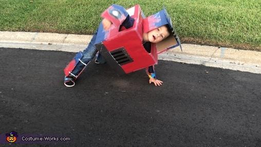 Transforming, Transformer Optimus Prime Costume