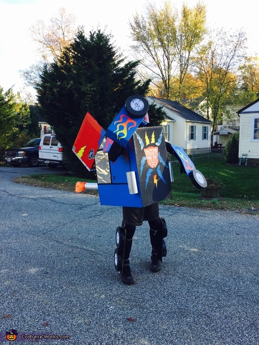 Optimus Prime transformed 3, Transformer Optimus Prime Costume