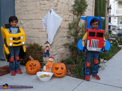 Transformer Brothers, Transformer Twin Brothers Costume