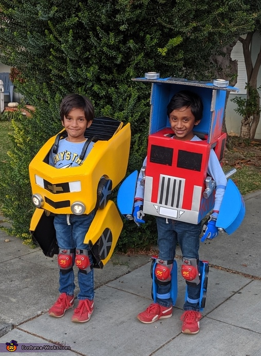 Transformer Twin Brothers Costume