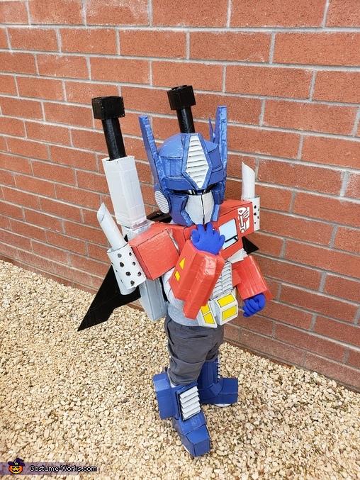 Transformers Homemade Costume