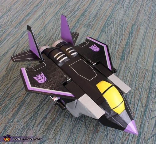 Skywarp Vehicle Mode, Transformers Costume