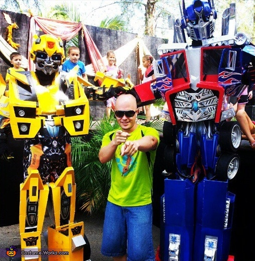 Transformers - Homemade costumes for men