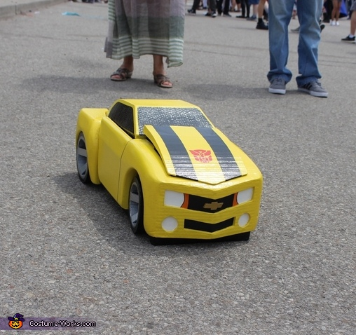 Bumblebee car, Transformers Costume