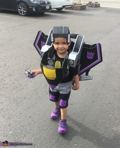 Skywarp robot mode, Transformers Costume