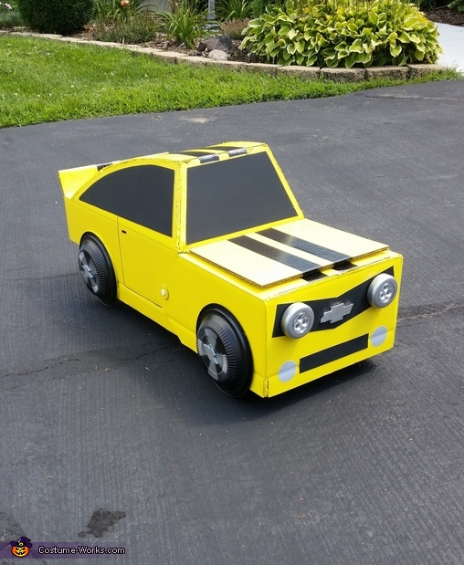 Bumble Bee Front, Transformers Bumble Bee Costume