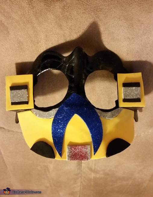 Bumble Bee Mask, Transformers Bumble Bee Costume