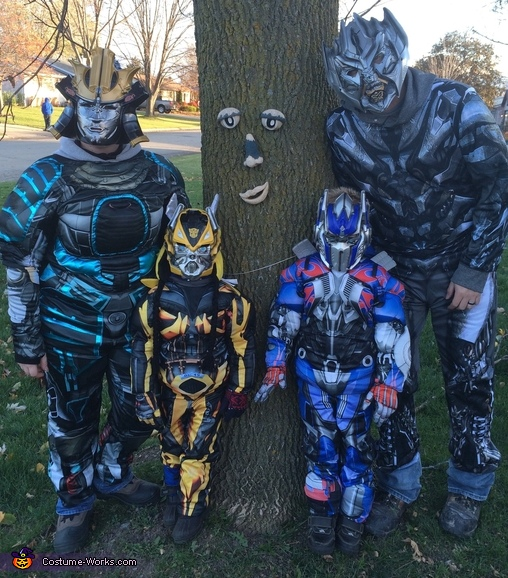 Transformers Family Costume