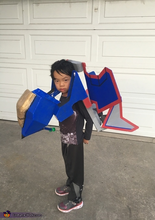 Transformers Jet Fighter Costume