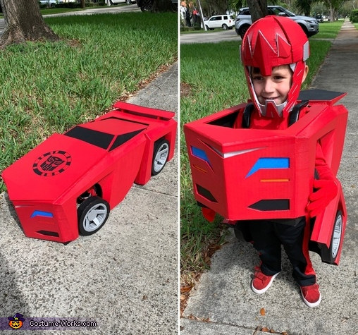 Transformers Sideswipe Costume