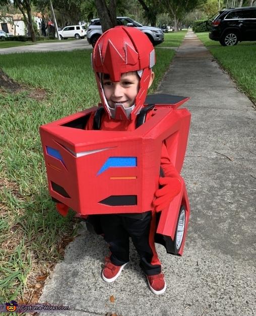 Robot mode, Transformers Sideswipe Costume