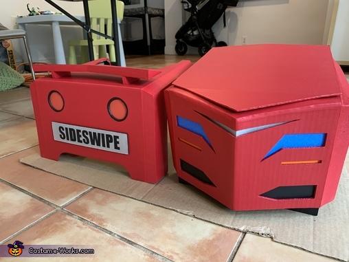 Car construction, Transformers Sideswipe Costume