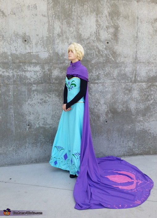Transforming Elsa Costume