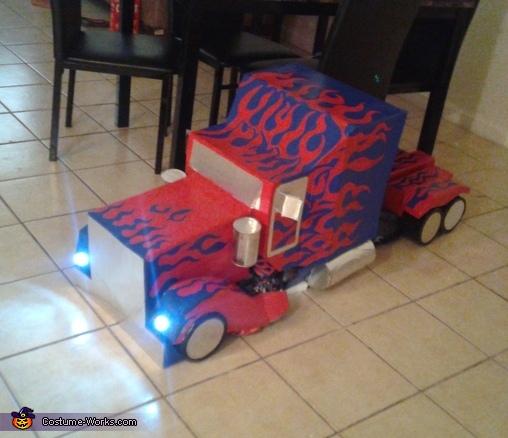 Optimus Prime, Optimus Prime Costume
