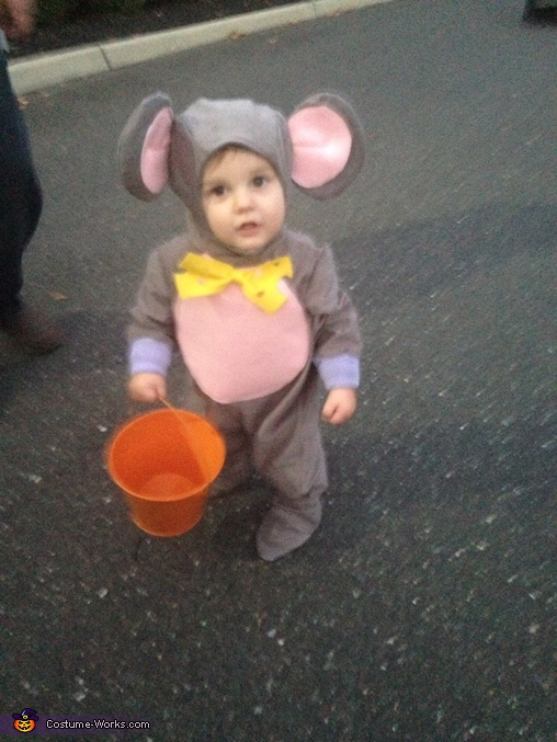 Wheres my candy!, Trapped Mouse Baby Costume