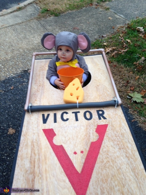I'm trapped! , Trapped Mouse Baby Costume