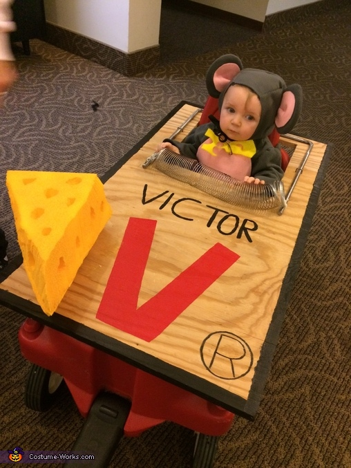 Trapped Mouse Baby Costume