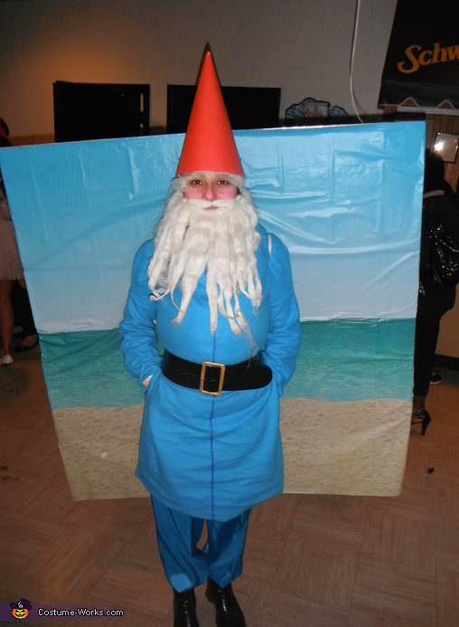 Travelocity Gnome Homemade Costume