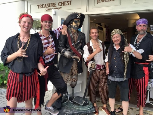 Treasure Chest Coin Co. Pirates Costume