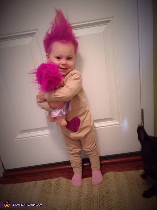 Treasure Troll Baby Costume