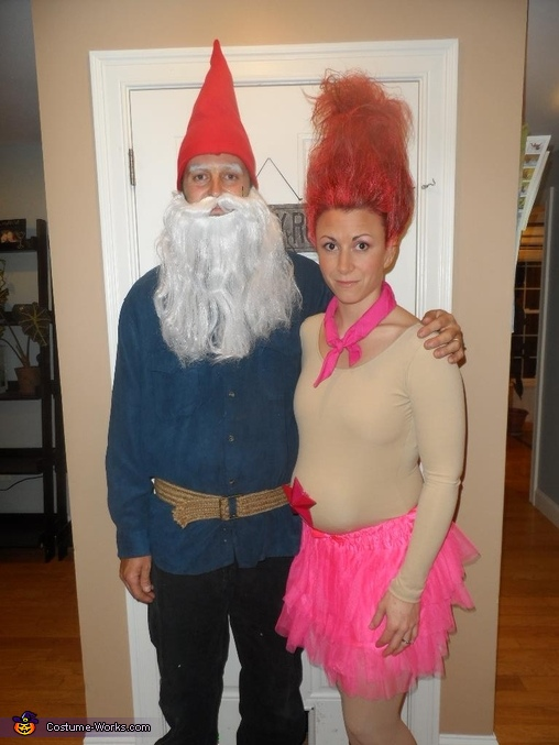 Treasure Troll and Garden Gnome Costume  sc 1 st  Costume Works & Treasure Troll and Garden Gnome Halloween Costumes