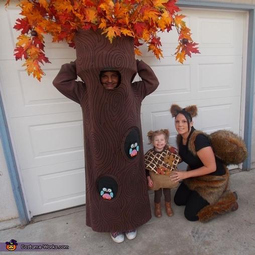 DIY Tree Costume