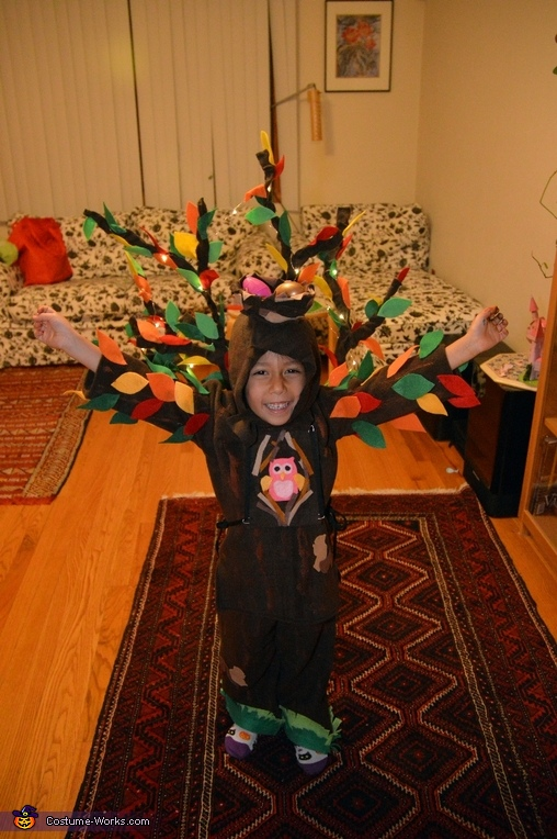 View from above, Tree Costume