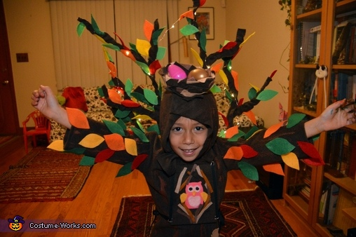 Close up, Tree Costume