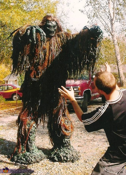 Run for your lives! The trees are attacking!, Tree Monster Costume