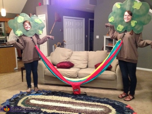 Trees and Eno Hammock Costume