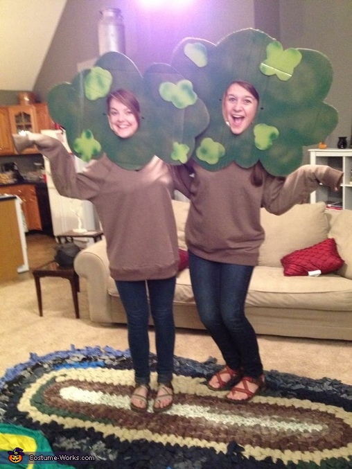 Trees (without the Eno Hammock), Trees and Eno Hammock Costume