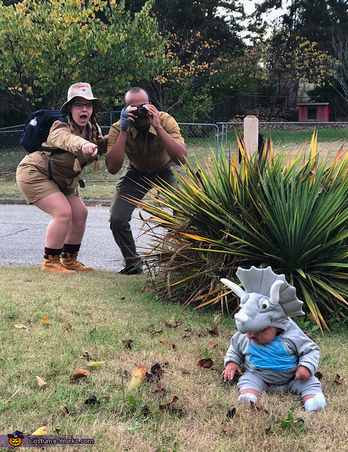 (Trey)ceratops Costume