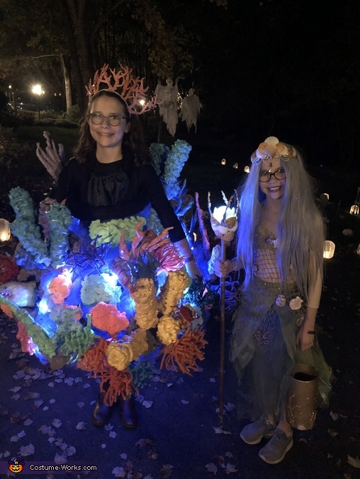 Trick-or-treating on Halloween!, Amphitrite - Sea Goddess Costume