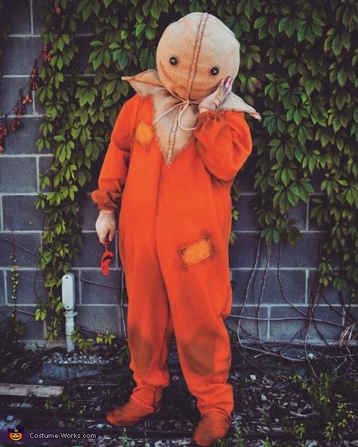 DIY Trick 'r Treat Sam Costume