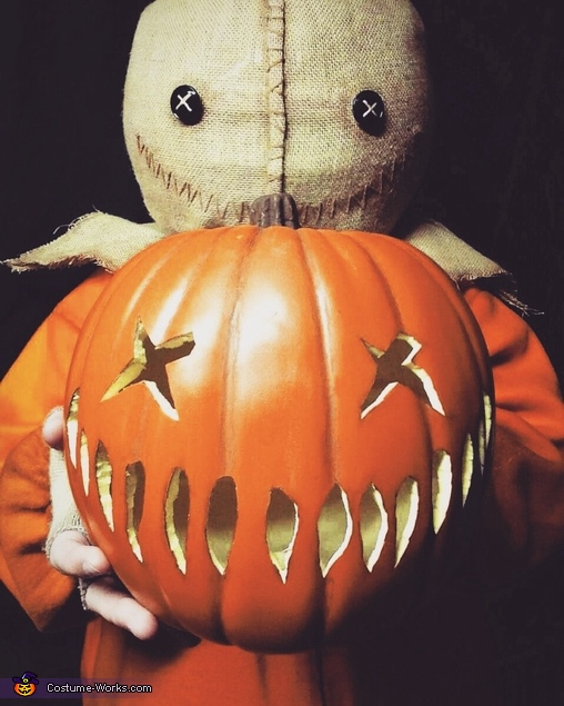 DIY Trick 'r Treat Sam Costume