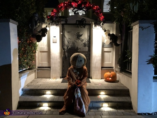 With a touch more light, Trick 'R Treat Samhain Sam Costume