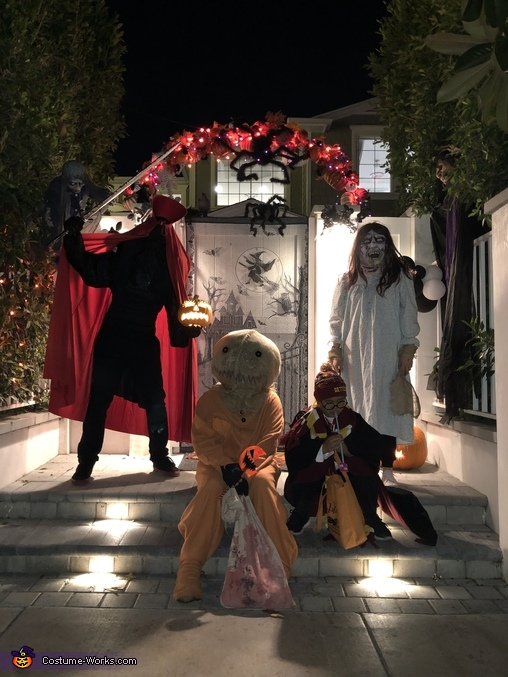 With a little help from my friends, Trick 'R Treat Samhain Sam Costume