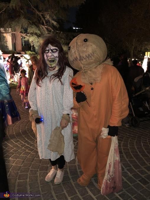 This IS halloween, Trick 'R Treat Samhain Sam Costume