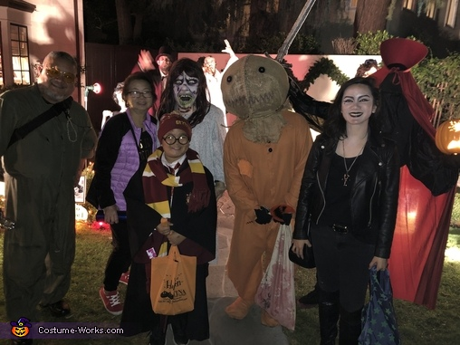 Neighborhood watch, Trick 'R Treat Samhain Sam Costume